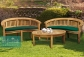 Teak Outdoor Garden Set