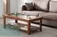Teak and Glass Coffee Table