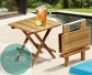 Outdoor Teak Picnic Bench