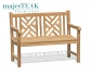 Teak Outdoor Bench Latte