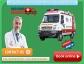 Apex Janseva Panchmukhi Ambulance Service from Jamshedpur to Ranchi